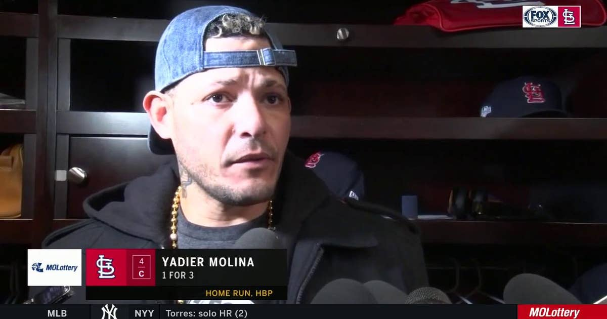 "Molina reflects on Cardinals' 2019 season: ""I'm proud of this group"""
