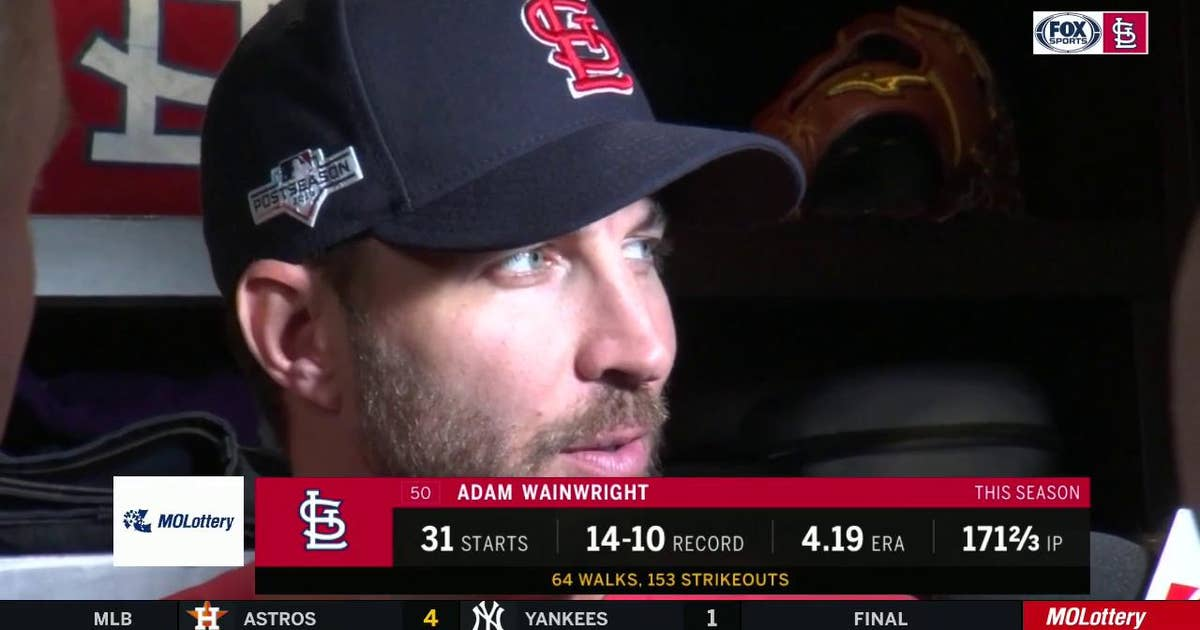 Wainwright on whether he'll return in 2020: 'I hadn't even thought about it'
