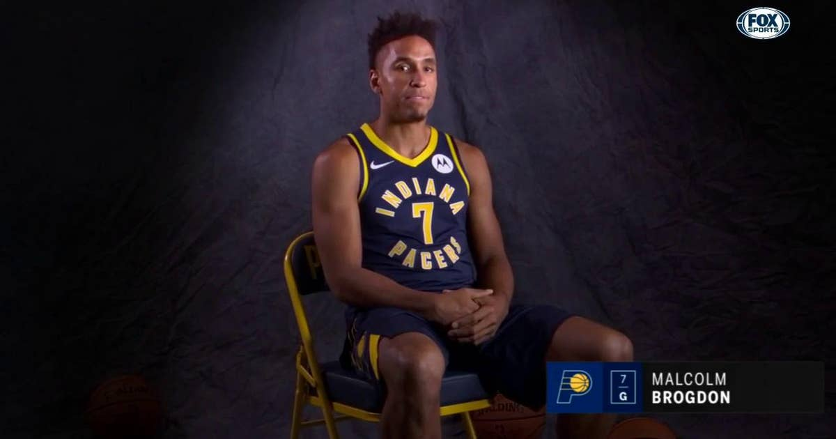 Newcomer Malcolm Brogdon has expectations set high for Pacers
