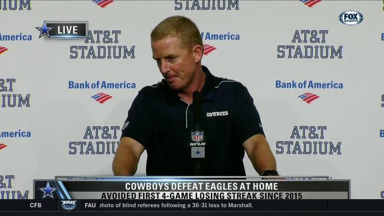 Jason Garrett: Defense turnovers were huge in win over Eagles   Cowboys Game Night