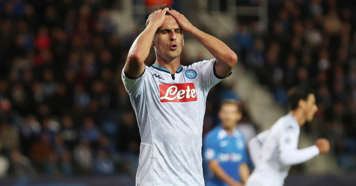 Napoli held to 0-0 draw at Genk in Champions League | FOX Sports