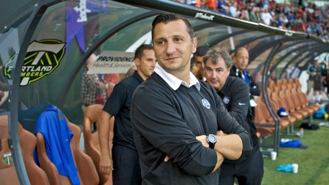 <p>               FILE - In this Oct. 1, 2015, file photo, FC Kansas City head coach Vlatko Andonovski watches from the sideline before the NWSL soccer championship match in Portland, Ore. U.S. Soccer is expected to name Andonovski as the new head coach of the U.S. women's national team Monday, Oct. 28, 2019. A person with knowledge of the deal says, Andonovski, the current coach of the Reign FC in the NWSL, is expected to sign a contract with U.S. Soccer in the coming days. He would replace Jill Ellis, who led the U.S. team to back-to-back World Cup titles during her tenure as coach. (AP Photo/Craig Mitchelldyer, File)             </p>
