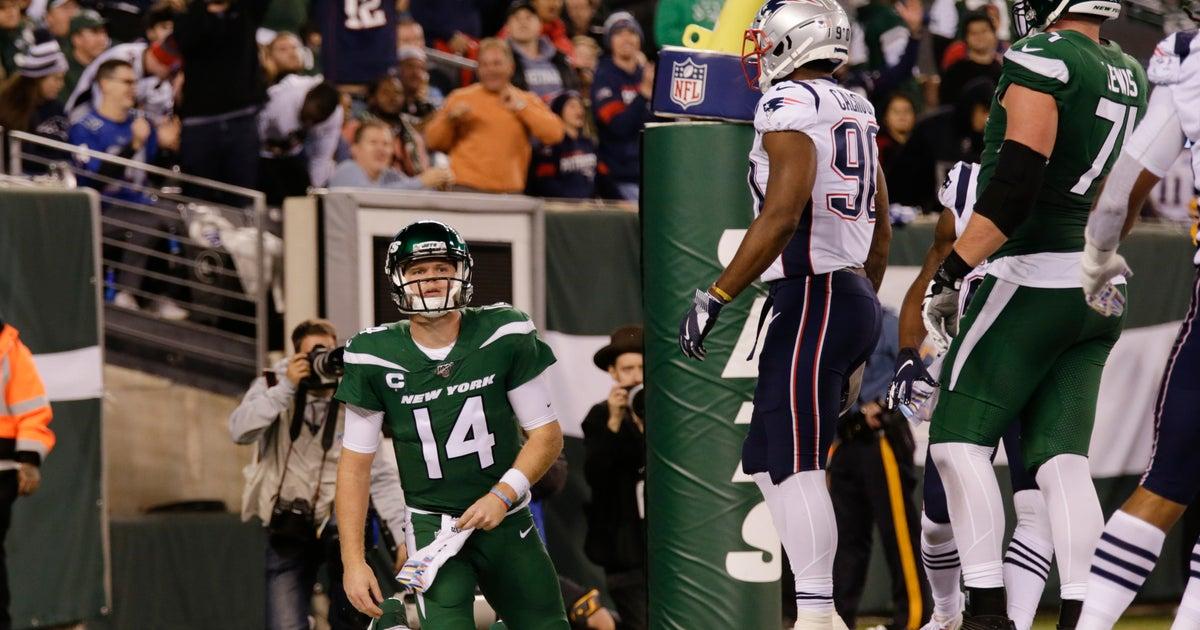 Darnold, Jets face Jaguars following 'embarrassing' MNF loss thumbnail