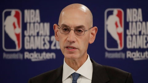 <p>               FILE - In this Oct. 8, 2019 file photo, NBA Commissioner Adam Silver speaks at a news conference before an NBA preseason basketball game between the Houston Rockets and the Toronto Raptors in Saitama, near Tokyo. When major corporations have angered Chinese authorities in recent years, the playbook calls for one thing: an apology.  The NBA, with billions at stake, has resisted that for now, though some experts wonder if such a move is inevitable. (AP Photo/Jae C. Hong)             </p>