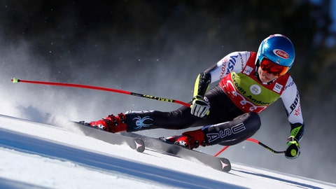 <p>               FILE - In this Thursday, March 14, 2019 file photo, United States' Mikaela Shiffrin competes during the women's super G race at the alpine ski World Cup finals, in Soldeu, Andorra. A new Alpine ski season starts this month, Oct. 2019, with Mikaela Shiffrin the expected superstar and China poised to be a surprise success. Shiffrin is the sport's most bankable star after Lindsey Vonn, Marcel Hirscher, and Aksel Lund Svindal all retired. (AP Photo/Gabriele Facciotti, File)             </p>