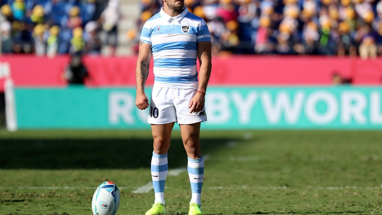 The Latest: RWC: Argentina leads US 19-5 at halftime