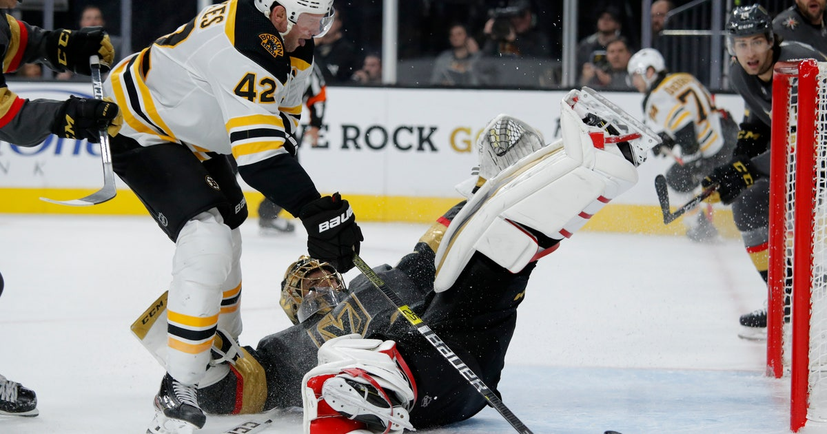 Bruins top Golden Knights 4-3, off to best start in 18 years   FOX Sports