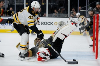 Bruins top Golden Knights 4-3, off to best start in 18 years