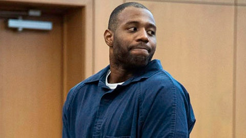 <p>               FILE - In this March 27, 2019, file photo, Torrey Green looks back to his family during his sentencing in Brigham City, Utah.Two women raped by the former Utah State University football player are suing the university. The Salt Lake Tribune reports the lawsuit filed Monday, Oct. 7, 2019, in U.S. District Court claims the school fostered an environment where sexual assaults were tolerated. Green was sentenced in March to 26 years to life in prison for sexually assaulting six women he dated between 2013 and 2015. (Chantelle McCall/The Utah Statesman, Pool, File)             </p>