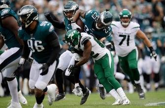 Defense dominates, Eagles rout Jets 31-6