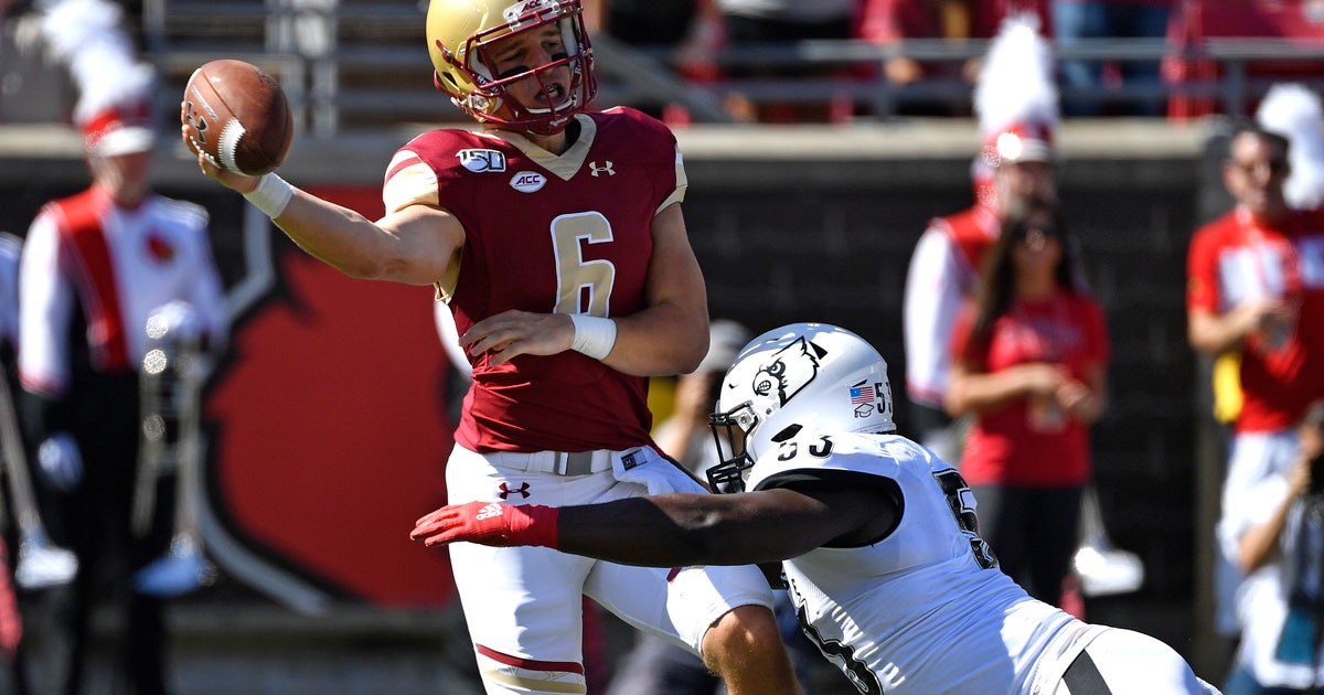 BC turns to Grosel at QB for game against NC State | FOX Sports