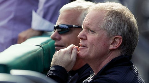 <p>               FILE - In this Aug. 23, 2019, file photo Pittsburgh Pirates general manager Neal Huntington, right, watches batting practice from the dugout before a baseball game against the Cincinnati Reds in Pittsburgh. The team said Monday, Oct. 28, 2019, that it has fired general manager Huntington, the third high-profile dismissal following a last-place finish in the NL Central. (AP Photo/Keith Srakocic, File)             </p>
