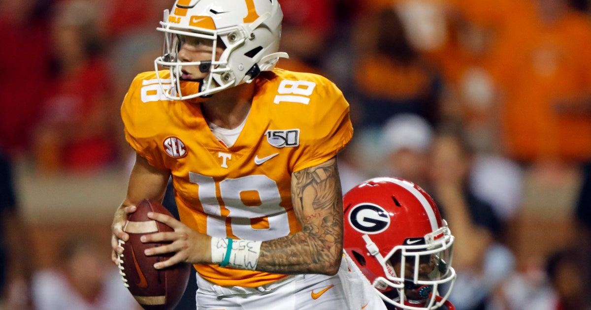 Maurer will start at QB for Tennessee against Miss. State