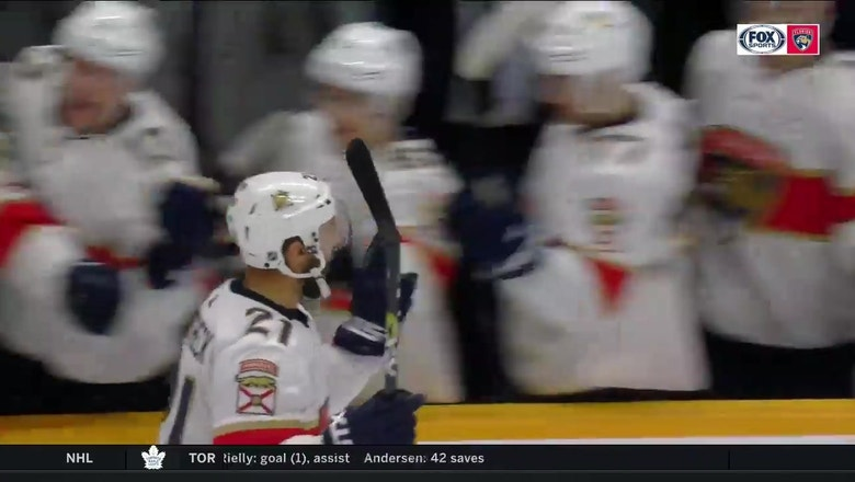 WATCH: Vincent Trocheck nets game-winning shootout goal in Nashville