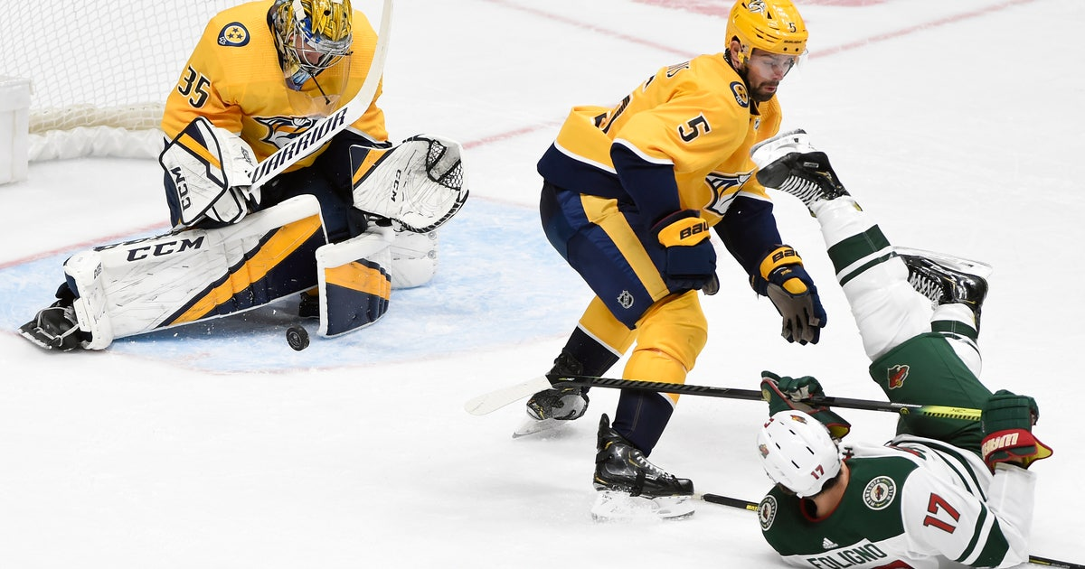 Predators' Rinne flawless in blanking Wild 4-0 thumbnail