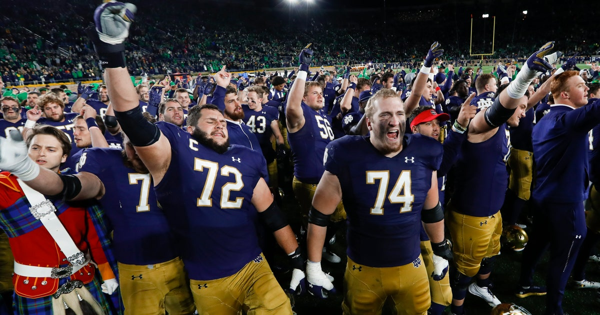 No. 8 Irish need to win out and have help for playoff berth | FOX Sports