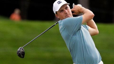 "<p>               FILE - In this Aug. 16, 2019, file photo, Jordan Spieth watches his tee shot on the 18th hole during the second round of the BMW Championship golf tournament at Medinah Country Club in Medinah, Ill. Spieth returns from the longest break of a calendar year hopeful that a fresh start will end his longest drought. Spieth hasn't won since the 2017 British Open at Royal Birkdale, a span of 54 tournaments worldwide. ""I certainly want to get back in the winner's circle,"" Spieth said. (AP Photo/Nam Y. Huh, File)             </p>"