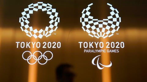<p>               FILE - In this June 11, 2019, file photo, a man walks past the logos of the Tokyo 2020 Olympics and Paralympics in Tokyo. Unprecedented demand for Tokyo Olympic tickets is driving interest in the Paralympics, although Tokyo may struggle to surpassed London's 2012 record. Tokyo organizers said on Friday, Oct. 18, 2019 they have sold 600,000 Paralympic tickets in the first of several lotteries, and are touting records set for the number of people who participated. (AP Photo/Jae C. Hong, File)             </p>