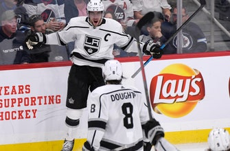 Kopitar scores in 3rd, Kings beat Jets 3-2