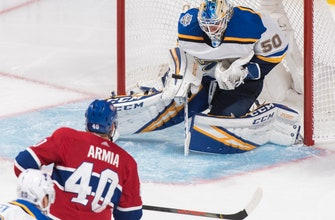 Gallagher leads Canadiens past Blues 6-3