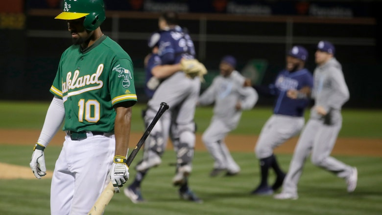 A's set sights on division after another wild-card loss