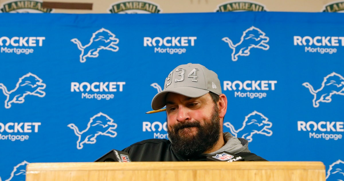 Patricia says Lions 'turning the page'   FOX Sports