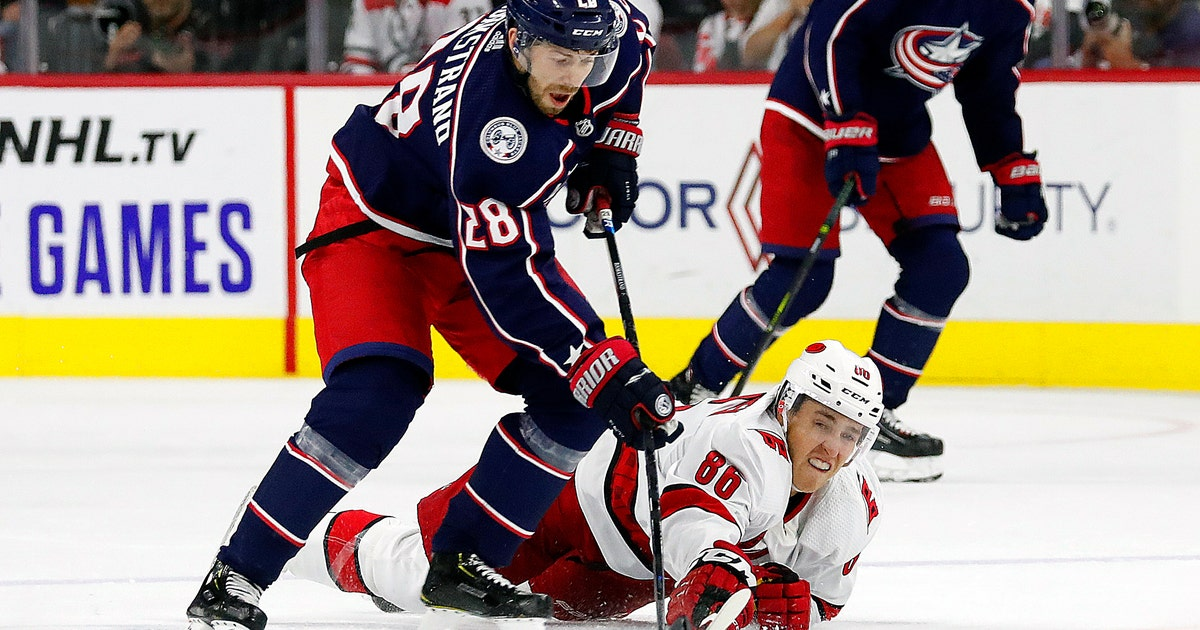 Blue Jackets snap Hurricanes' season-opening 5-game streak | FOX Sports