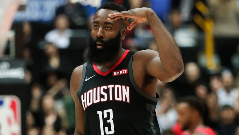 Harden and Westbrook back together to chase title in Houston
