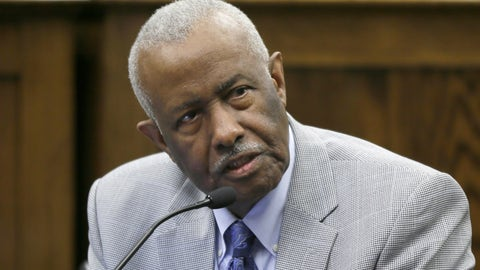 <p>               FILE - In this March 25, 2015 file photo, Rep. John Walker, D-Little Rock, speaks at the Arkansas state Capitol in Little Rock, Ark. Walker, an Arkansas lawmaker and civil rights attorney who represented black students in a long-running court fight over the desegregation of Little Rock area schools, died Monday, Oct. 28, 2019. He was 82.  (AP Photo/Danny Johnston File)             </p>