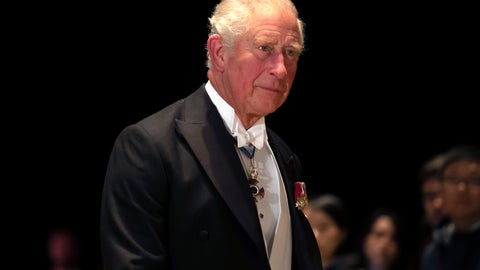 <p>               Britain's Prince Charles arrives at the Imperial Palace for the Court Banquets after the enthronement ceremony of Emperor Naruhito in Tokyo Tuesday, Oct. 22, 2019. (Pierre-Emmanuel Deletree/Pool Photo via AP)             </p>