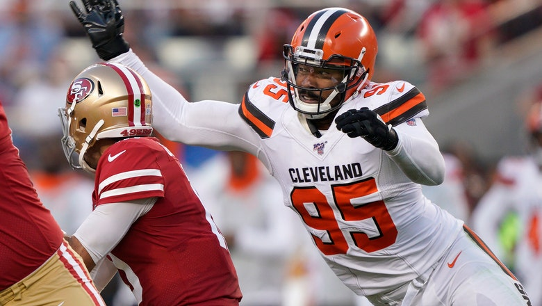 Browns relieved Garrett incident with punching fan not worse