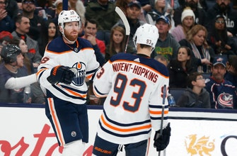 Draisaitl, Oilers roll past Blue Jackets 4-1