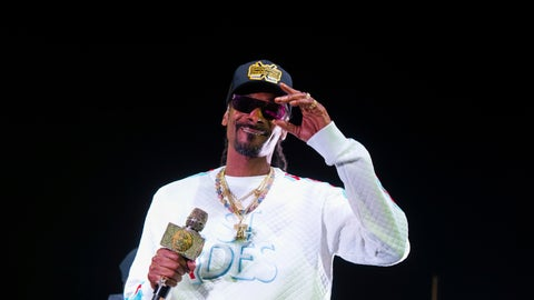 """<p>               FILE - In this Jan. 5, 2019 file photo, Snoop Dogg performs onstage at State Farm Arena in Atlanta. The University of Kansas has apologized for its risque Late Night at the Phog event in which the rapper performed, stripper poles were wheeled onto the Allen Fieldhouse floor and fake money was shot over the heads of prospective recruits. Athletic director Jeff Long said Friday, Oct. 4  """"we expected a clean version of the show."""" Long said in a statement the school fell short of providing a """"family atmosphere"""" during the annual kickoff for the school's beloved basketball program. (Photo by Paul R. Giunta/Invision/AP, File)             </p>"""