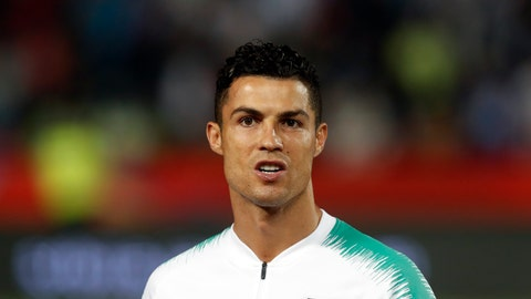 <p>               FILE - In this Sept. 7, 2019, file photo, is Portugal's Cristiano Ronaldo prior to playing their Euro 2020 group B qualifying soccer match between Serbia and Portugal, in Belgrade, Serbia. Cristiano Ronaldo's lawyers are asking a U.S. judge to order closed-door arbitration or to dismiss a Nevada woman's lawsuit seeking damages on an accusation the soccer star raped her in Las Vegas in 2009. Attorneys representing Ronaldo's accuser, Kathryn Mayorga, didn't immediately respond Tuesday, Oct. 22, 2019, to messages about two Oct. 14 court filings in the case stemming from a 2010 confidentiality agreement and $375,000 hush-money settlement. (AP Photo/Darko Vojinovic, File)             </p>