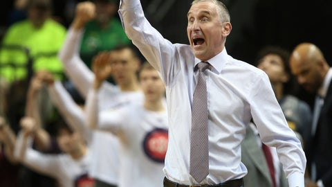 <p>               FILE - In this Feb. 28, 2019, file photo, Arizona State coach Bobby Hurley gestures to his team during the first half of an NCAA college basketball game against Oregon in Eugene, Ore. Arizona State should be able to play multiple styles in bid to reach three straight NCAA Tournaments for the first time since the early 1960s. The Sun Devils have key players back and Hurley added more talent through junior college transfers and recruiting. (AP Photo/Chris Pietsch, File)             </p>
