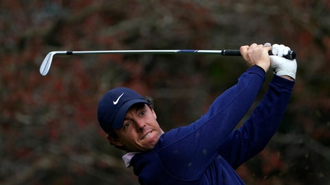 <p>               Rory McIlroy of Northern Ireland watches his tee shot on the 3th hole during the third round of the Zozo Championship PGA Tour at the Accordia Golf Narashino country club in Inzai, east of Tokyo, Japan, Sunday, Oct. 27, 2019. (AP Photo/Lee Jin-man)             </p>