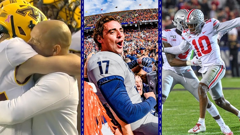 Big Ten Week 8: Wisconsin upset, Ohio State dominates, Minnesota inspires