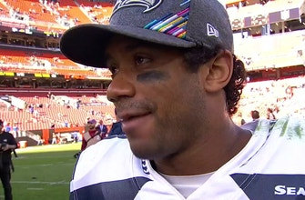 Russell Wilson: 'We look forward to the moments… we don't shy away from them'