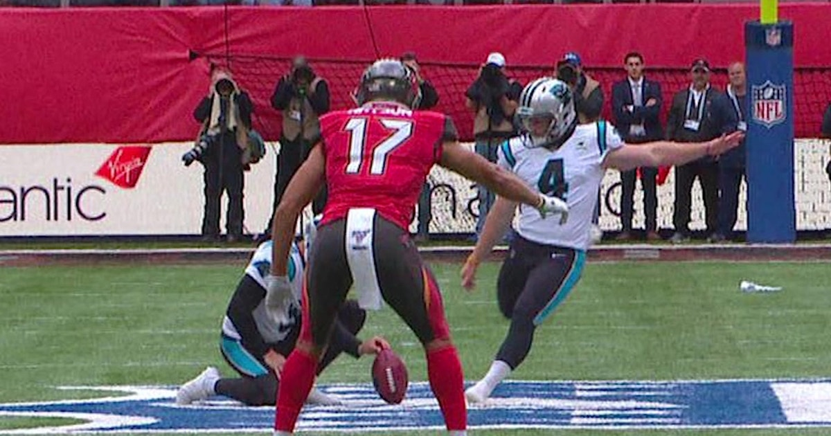Panthers attempt NFL's first 'fair catch kick' since 2013 — Dean Blandino explains what happened