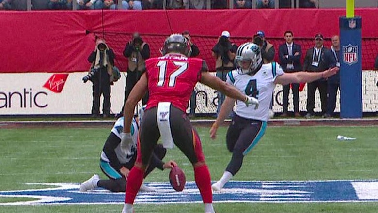 Panthers attempt NFL's first 'fair catch kick' since 2013 — Dean Blandino explains