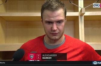 Aleksander Barkov recaps Florida's season-opening loss to Tampa Bay