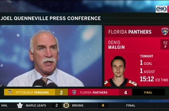 Coach Q talks Panthers' 6-game point streak, win over Pittsburgh