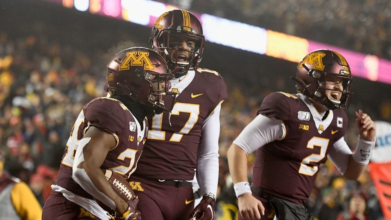 Minnesota rushes for 322 yards in rout of Nebraska, first 6-0 start since 2003