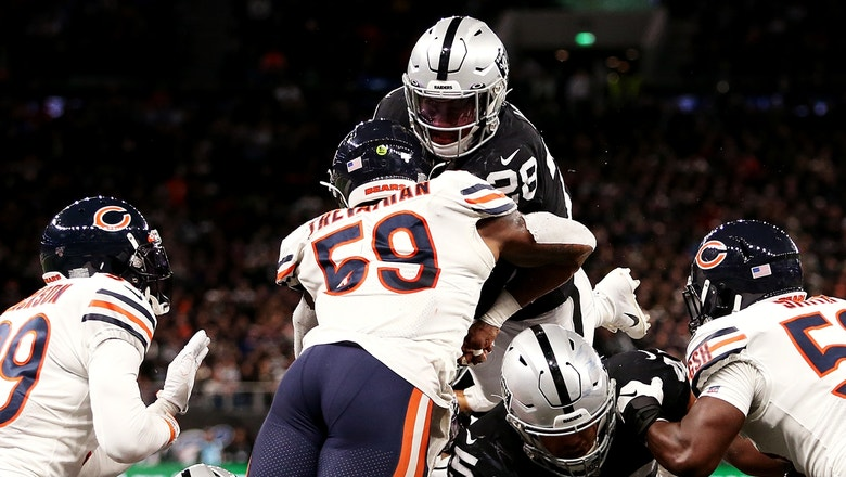 Raiders stun Bears in final minutes after blowing 17-point second-half lead