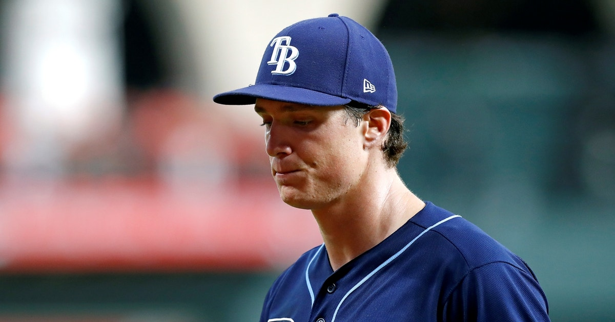 Was Rays Tyler Glasnow tipping pitches to Astros?