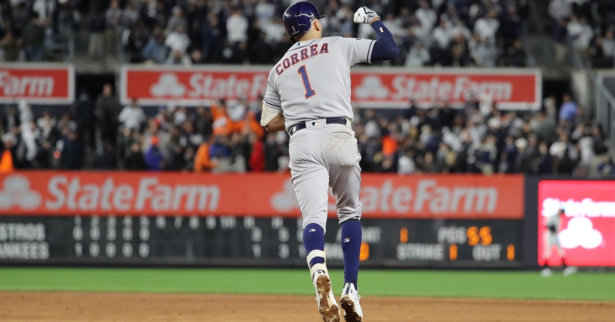 Carlos Correa provides possible ALCS Game 4 dagger with three-run shot, gives Astros 6-1 lead