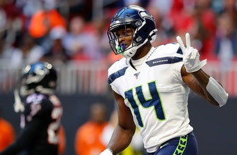 Russell Wilson finds DK Metcalf for 2 TDs, Seahawks hold off Falcons 27-20