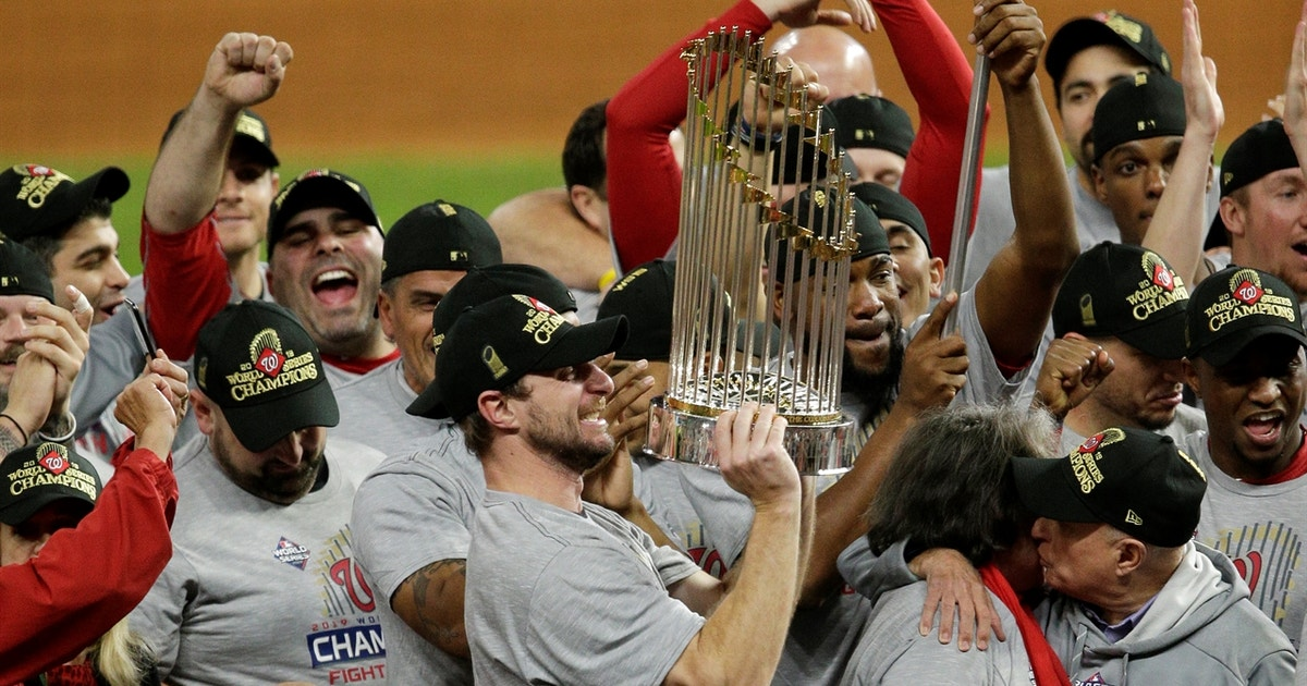 """""""We've been in so many eliminations games…we always found a way to respond"""" – Max Scherzer on the Nationals winning the 2019 World Series"""