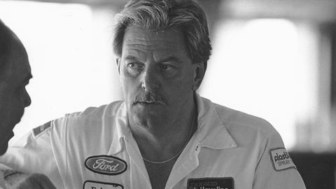 UNKNOWN:  Robert Yates became a team owner in 1988, fielding Texaco-Havoline Fords for driver Davey Allison. (Photo by ISC Images & Archives via Getty Images)