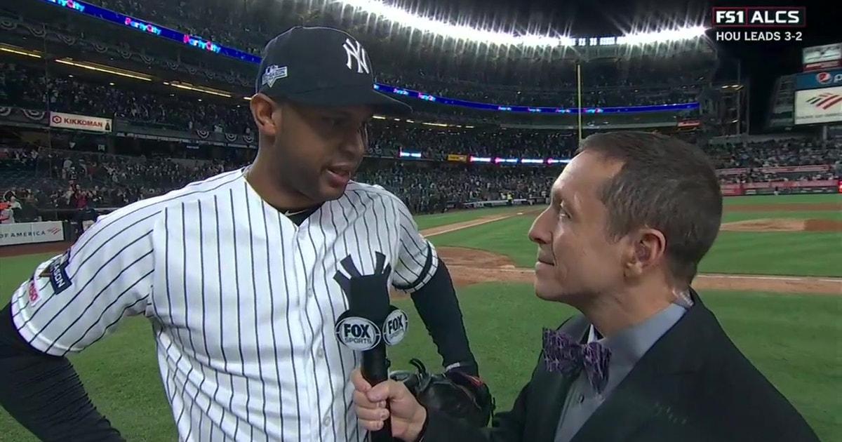 Aaron Hicks breaks down his game-winning three-run home run